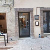 Ristorante Il Moderno - Perugia - L'entrata - Via del Carmine
